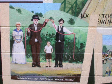 Painting On Local Facilities At Loch